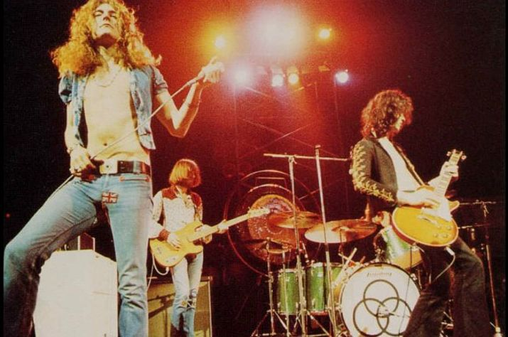 the concert room legends led zeppelin houses of the holy 1973. Black Bedroom Furniture Sets. Home Design Ideas
