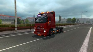 Volvo FH3 3 Axle Holland Style truck mod