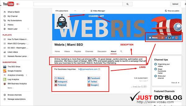 toi uu channel cho youtube