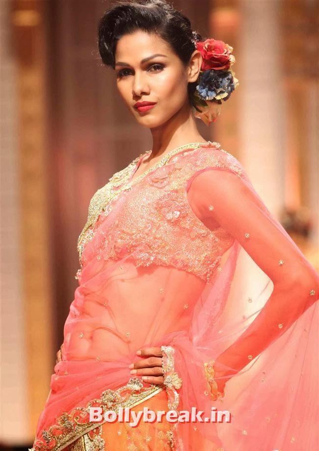 Nethra Raghuraman, Bollywood Celebs at India Bridal Fashion Week