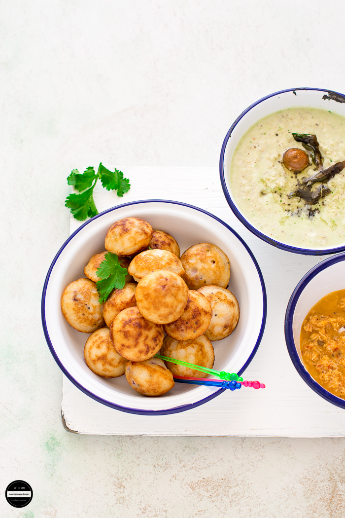 Kodo Millet (Kodri) and Quinoa Paniyaram is a delicious and healthy breakfast or snack can be enjoyed with any type of chutney.