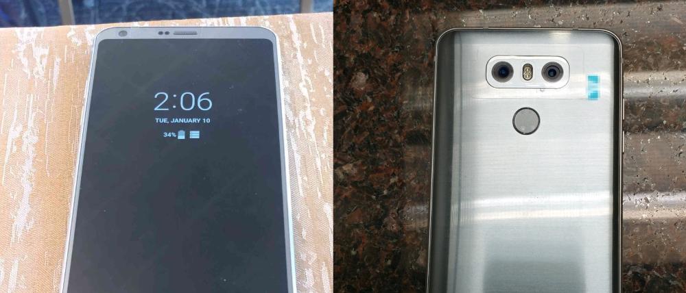 The LG G6 | Image Courtesy: 9to5Google