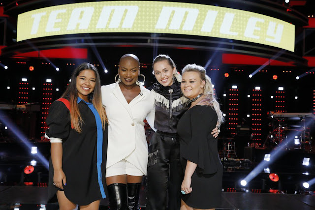 Video interview: Brooke, Ashland and Janice  from Team Miley talk performing on 'The Voice'