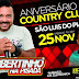 Robertinho na Pisada é atração no aniversário do Country Clube