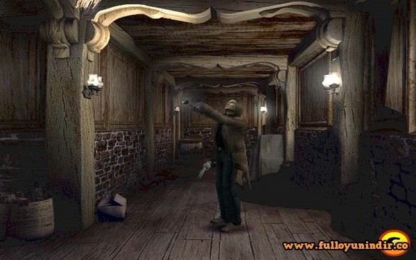Alone in the Dark The New Nightmare PS2