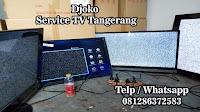 service tv sony tangerang