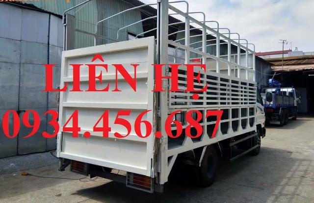 Giá xe thùng chở xe máy Hyundai 110s