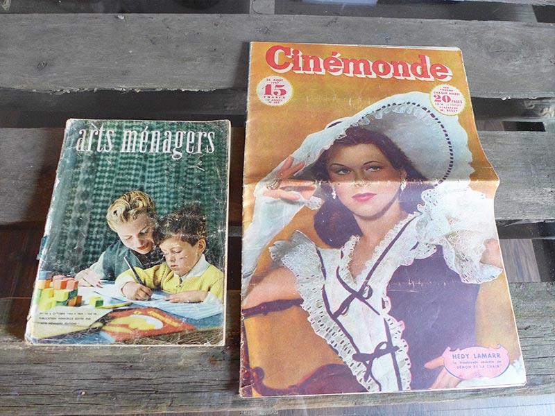 magazine et journal des années 50
