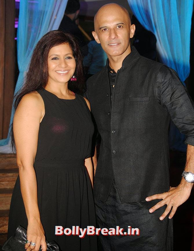 Preeti Mamgain and Rajesh Khera, Indian Tv Serial Mahabharat Heroines and Heroes Pics from Success Party