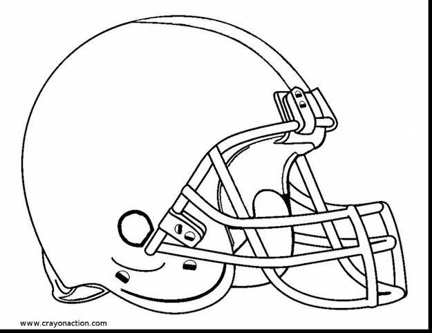 Stunning Football Helmet Coloring Pages To Print With Football Helmet  Coloring Pages And Football Helmet Coloring