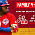 Family 4-Packs still available for all remaining Bisons home games!