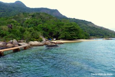 Passeio de barco em Paraty - Praia do Engenho