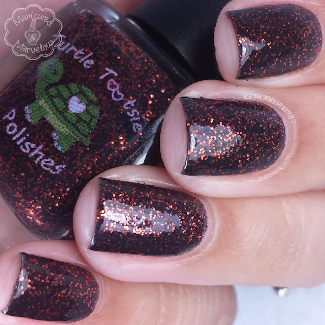 Turtle Tootsie Polish - Magic Pumpkin