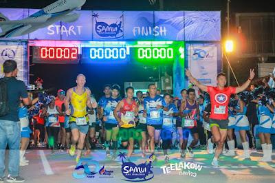 Bangkok Airways Koh Samui half marathon