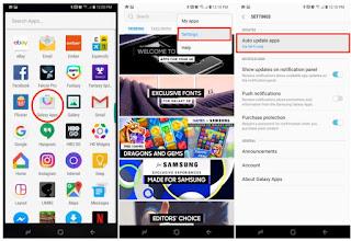 Cara Menonaktifkan Update Otomatis Aplikasi di Galaxy S9