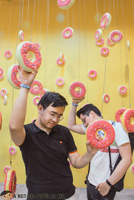 Emil Ong and Renz Cheng in Dessert Museum