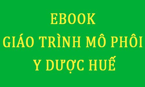 ebook giáo trình mô phôi pdf đại học y dược