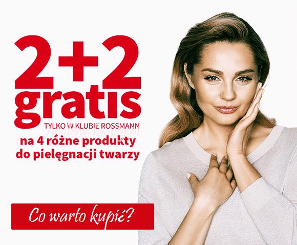 Promocja 2 + 2 w Rossmannie - co warto kupić?