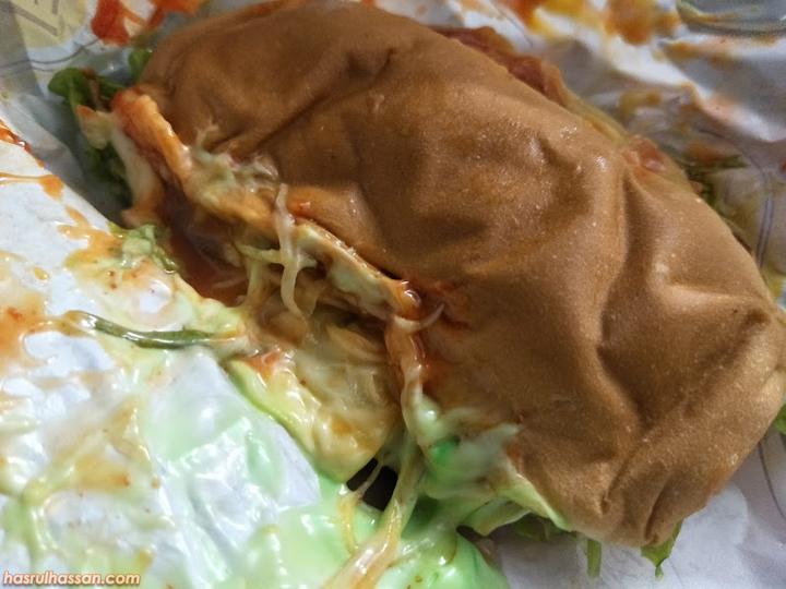 Burger Banjir Penuhi Selera Lapar di Waktu Malam