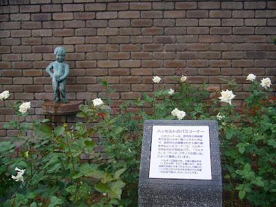 兵庫県伊丹市・荒牧バラ公園 ハッセルトのバラコーナー