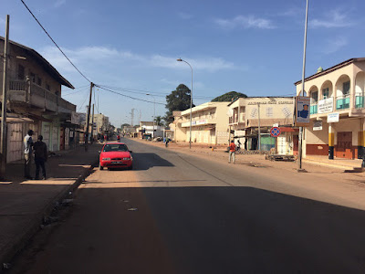 Gambia's largest city, Serekounda