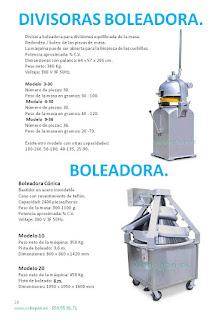 Divisoras/boleadoras y Boleadoras
