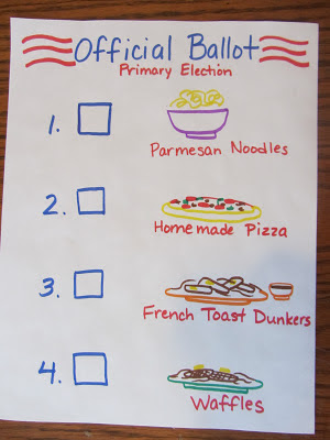 Teaching Young Kids About the Voting Process-The Unlikely Homeschool