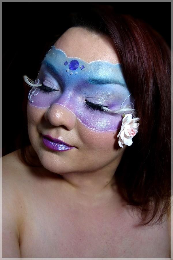 maskenball makeup