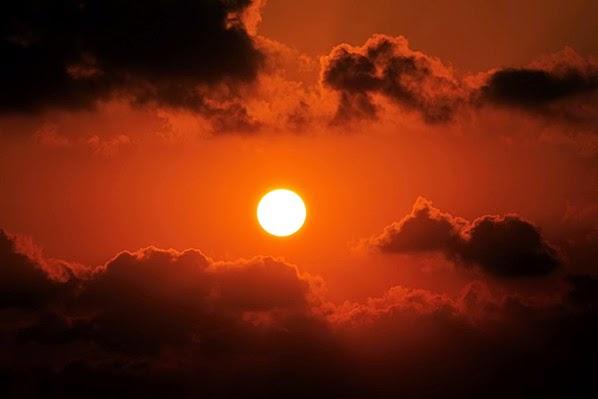 الحصول على صور دافئة لغروب الشمس
