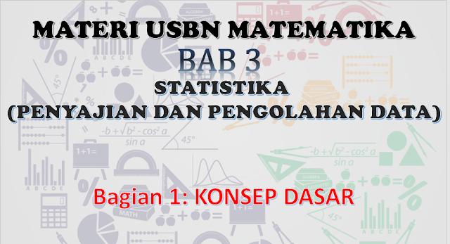 Konsep dasar penyajian dan pengolahan data, usbn sd matematika penyajian data