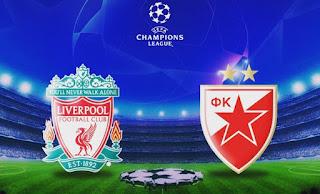 مشاهدة مباراة ليفربول و النجم الأحمر بث مباشر يلا كوره اون لاين دوري ابطال اوروبا
