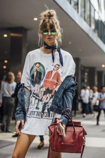 Como usar T-shirts nos seus looks