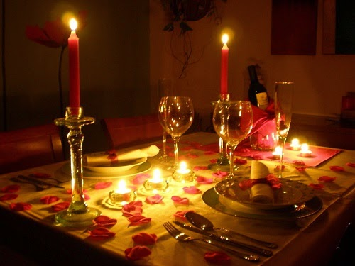 Regalos para mi novio - Decoracion cena romantica ...