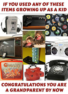 If you used any of these as a congratulations you are a grandparent