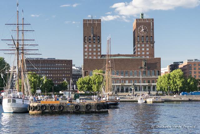 Ayuntamiento de Oslo por El Guisante Verde Project