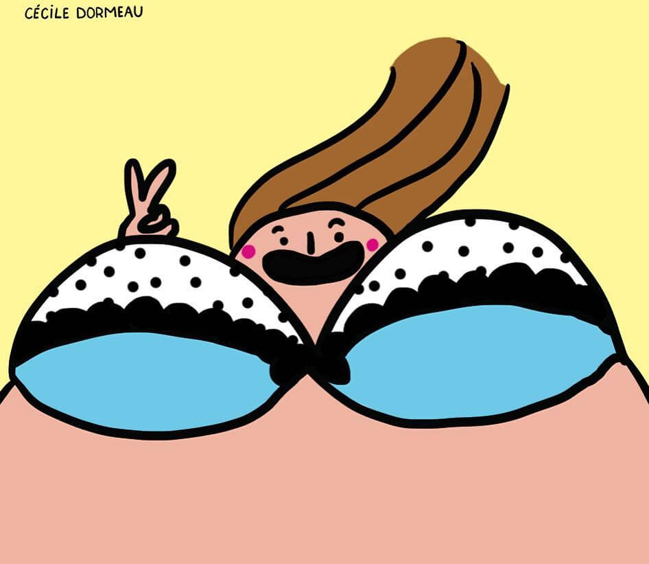 50 Incredibly Funny Illustrations Depicting Cool Girls Who Are Not Afraid Of Being Themselves