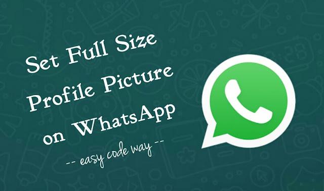 Whatsapp pic profile Check Someone's