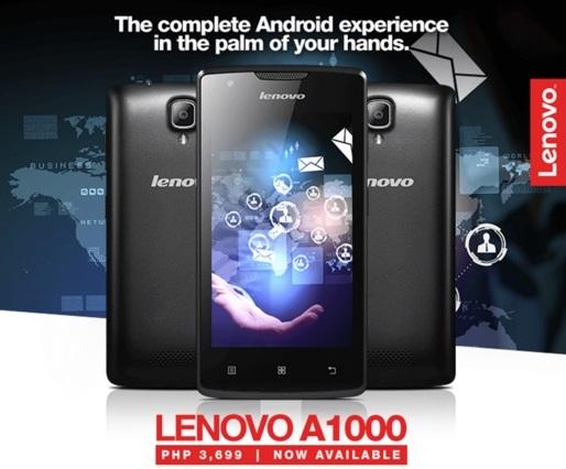 Harga HP Lenovo A1000 Tahun Ini Lengkap Dengan Spesifikasi RAM 1GB Harga 1 Juta-an
