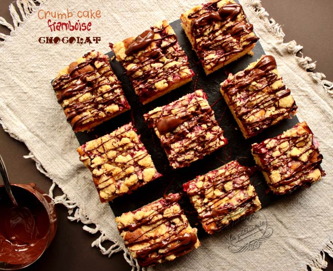 crumbcake chocolat framboise