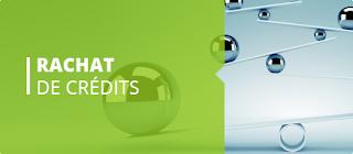 Le rachat de crédits : solution à l'endettement ? Vous souhaitez réaliser des travaux dans votre maison ? La famille s'agrandit et vous devez changer de logement et de voiture mais vous avez déjà des crédits consommation et/ou immobilier en cours ? Alors pour éviter l'endettement, le rachat de crédits est la solution adaptée à vos besoins.