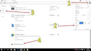Membuka Situs yang Diblokir di Google Chrome