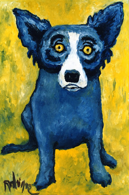 George Rodrigue Blue Dog Paintings