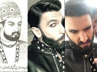 Ranveer Singh performs in the role of Alauddin Khilji in Sanjay Leela Bansali's 'Padmavati'