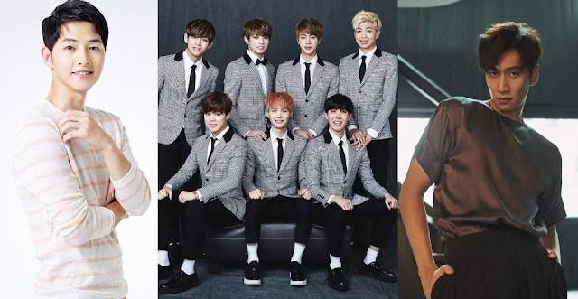 Buat Netizen Iri! Seorang Fans BTS Dapat Perhatian Song Joong Ki dan Lee Kwang Soo