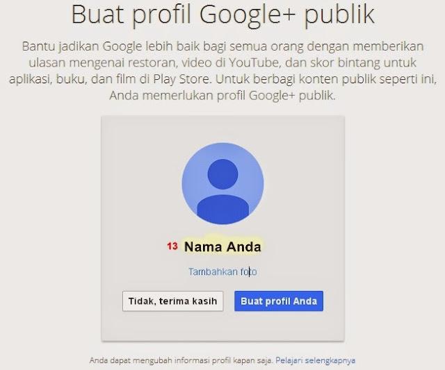 Proses Pembuatan Akun Gmail