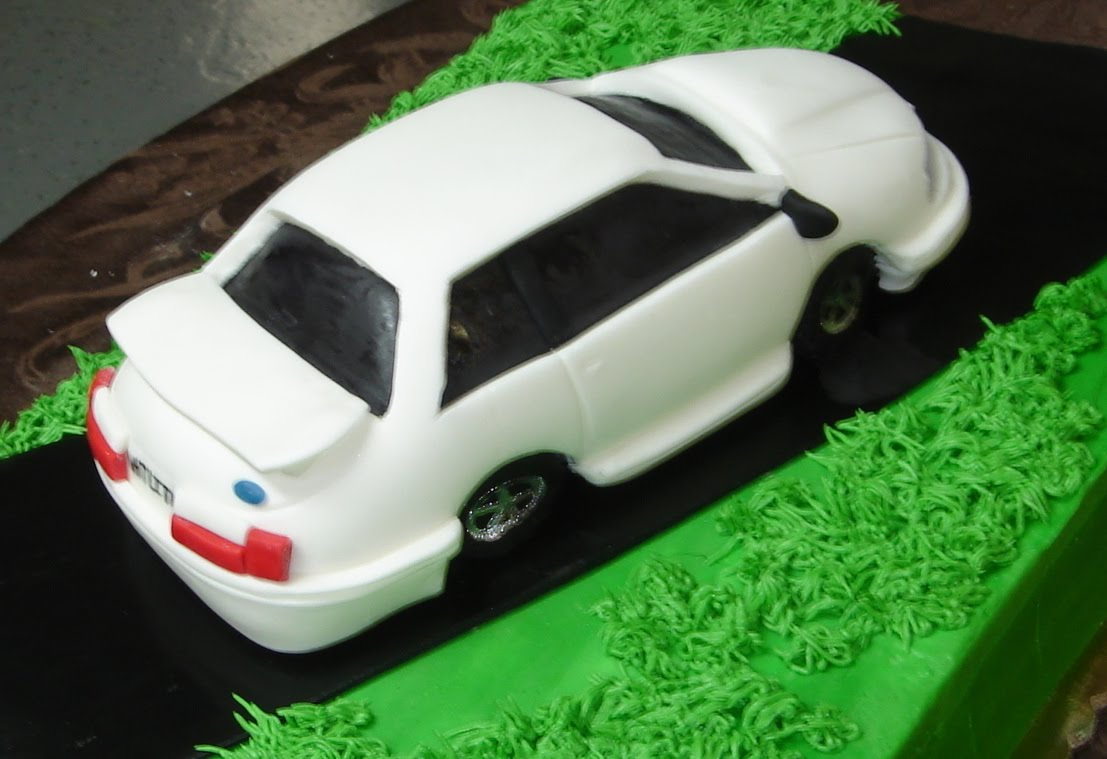 3d Car On Butter Cream Men S Birthday Cake This Would Also
