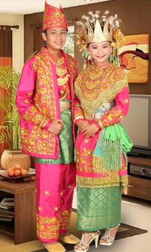 Keunikan Pakaian Adat Tradisional Provinsi Jambi Baju ...