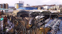 Newcastle Central Railway Station,Newcastle Photos,Railway Station Newcastle, Northumbrian Images Blogspot, George and Robert Stephenson,Newcastle Photos, Flags, Trains, Train Station,Northumbrian Images,North East, England,Photos,Photographs