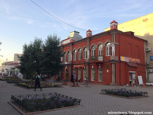Что посмотреть в Улан-Удэ - Арбат (улица Ленина)