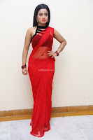 Aasma Syed in Red Saree Sleeveless Black Choli Spicy Pics ~  Exclusive Celebrities Galleries 054.jpg